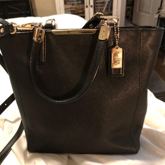 Coach Handbags - Fantastic Saffiano Leather Madison Coach Bag